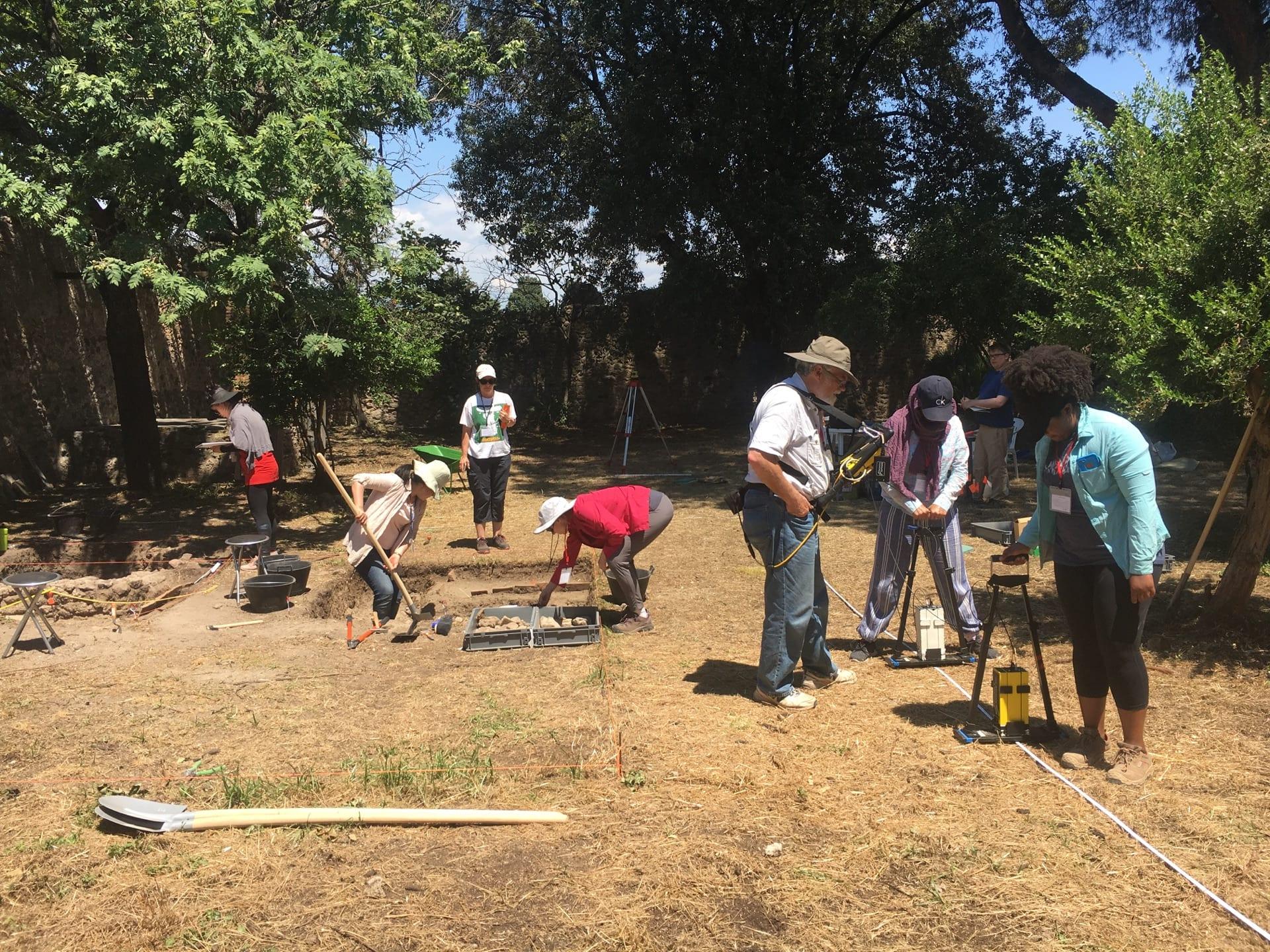 Fieldwork in 2018