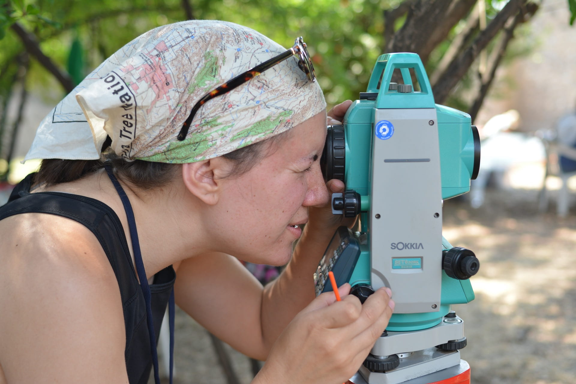 Surveying with Total Station in 2019