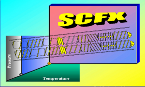 Supercritical Fluid Extrusion (SCFX) Title Graphic