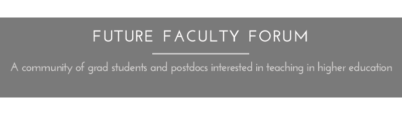 Future Faculty Forum