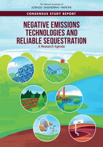 Negative Emissions Technologies and Reliable Sequestration A Research Agenda (2018)