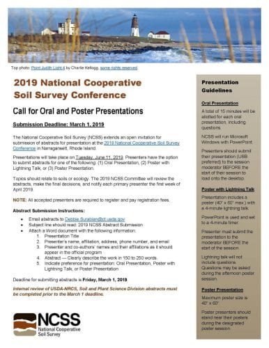 NCSS call for abstracts