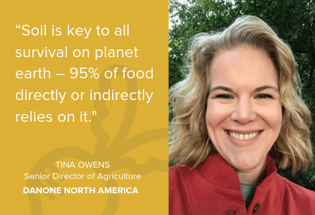 Tina Owens, senior director of agriculture for Danone North America
