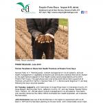 2019 EFD Soil Health Panelists