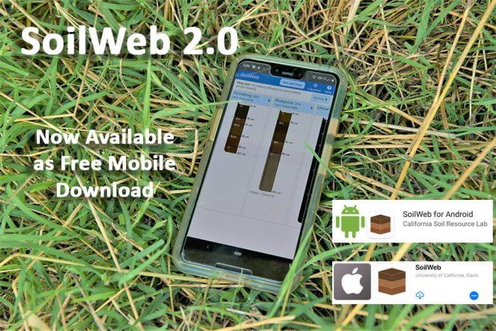 Soil Web 2.0 app release
