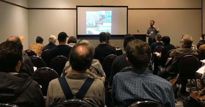 Ryan Maher presenting at NOFA-NY 2020 conference