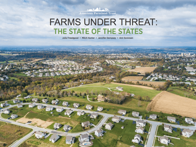 American Farmland Trust Farms Under Threat The state of the States