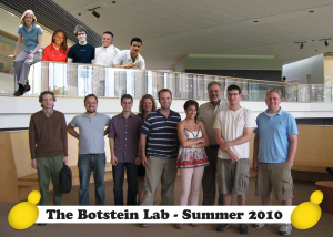 2010 Botstein Lab