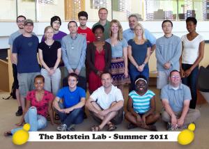 2011 Botstein Lab