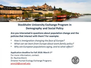 Stockoholm Exchange Program