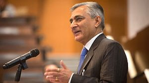 Former Chief Justice Thakur of the Indian Supreme Court