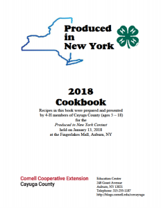 Produced in NY 2018 Cookbook