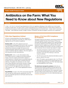 Antibiotics on the Farm: What You Need to Know about New Regulations