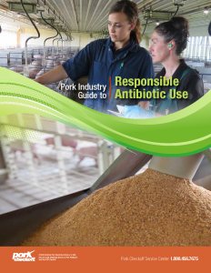 Pork Industry Guide to Responsible Antibiotic Use