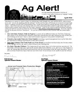 Ag Alert - April '16