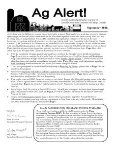 Ag Alert - September 2016