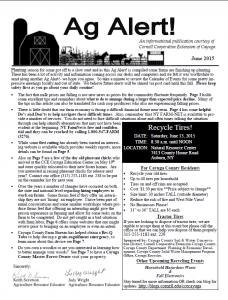 June '15 Front Page for Blog
