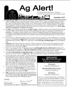 Ag Alert September 2015