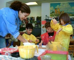 Local early childhood program hosts Cornell undergraduate