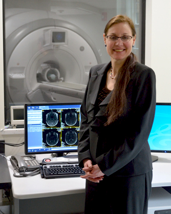 Valerie Reyna, director of the Human Neuroscience Institute and co-director of the Cornell MRI Facility