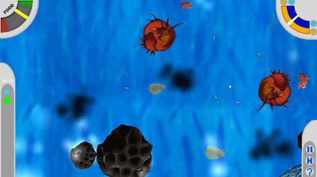 "To find food and evade predators you have to evolve. Learning how to do that is the key to the computer game ""Cellvival,"" set in a world of single-celled organisms."