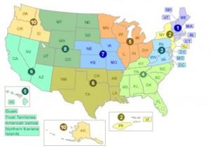 epa region map