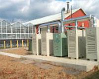 Landfill powered turbines