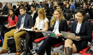 Cornell students at COP24
