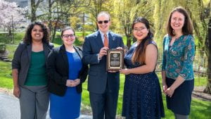 Winnie Ho 2019 Campus-Community Leadership Award