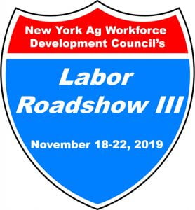 Decorative Labor Roadshow graphic