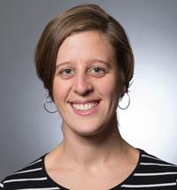 Jen Agans, postdoctoral associate at the Bronfenbrenner Center for Translational Research (BCTR).
