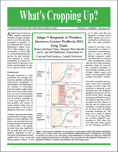 What's Cropping Article Cover Page