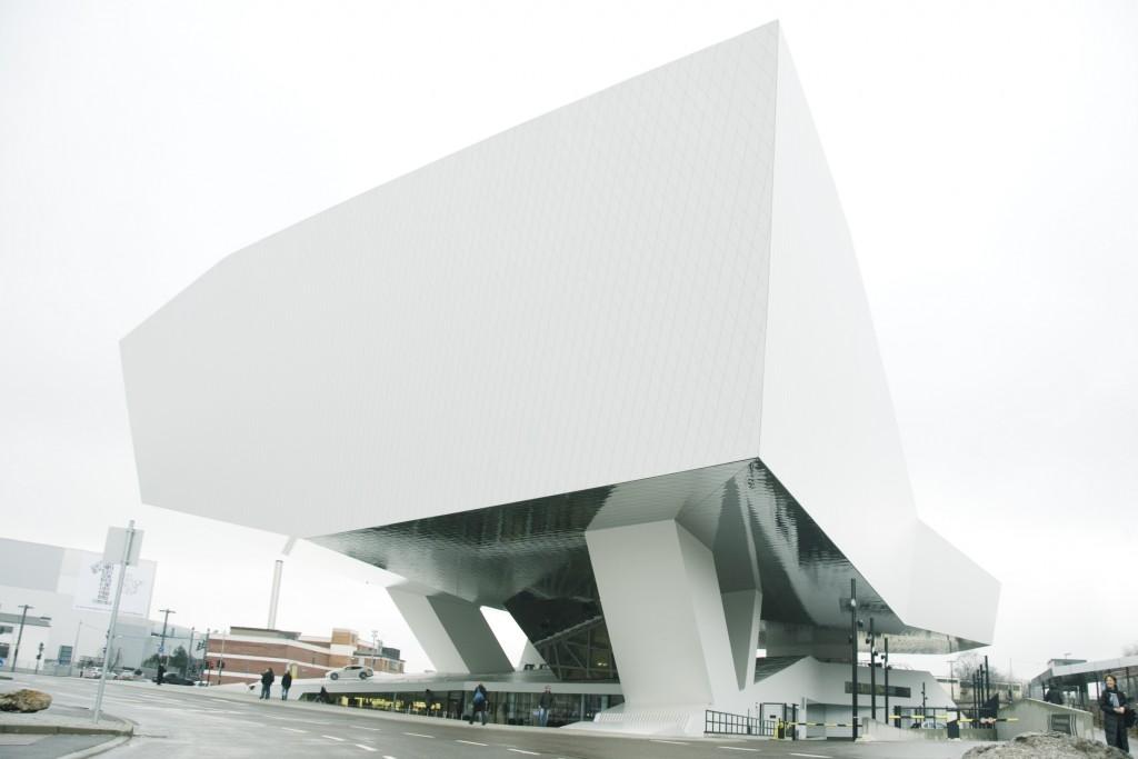 Porsche Museum by Delugan Meissl