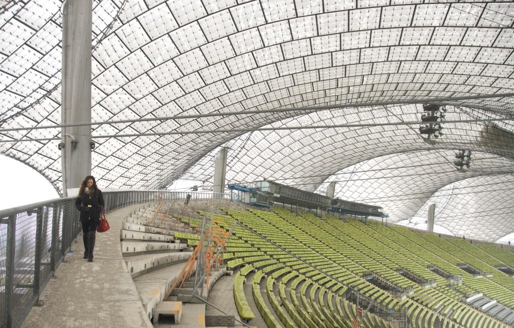 Frei Otto's Olympic Stadium
