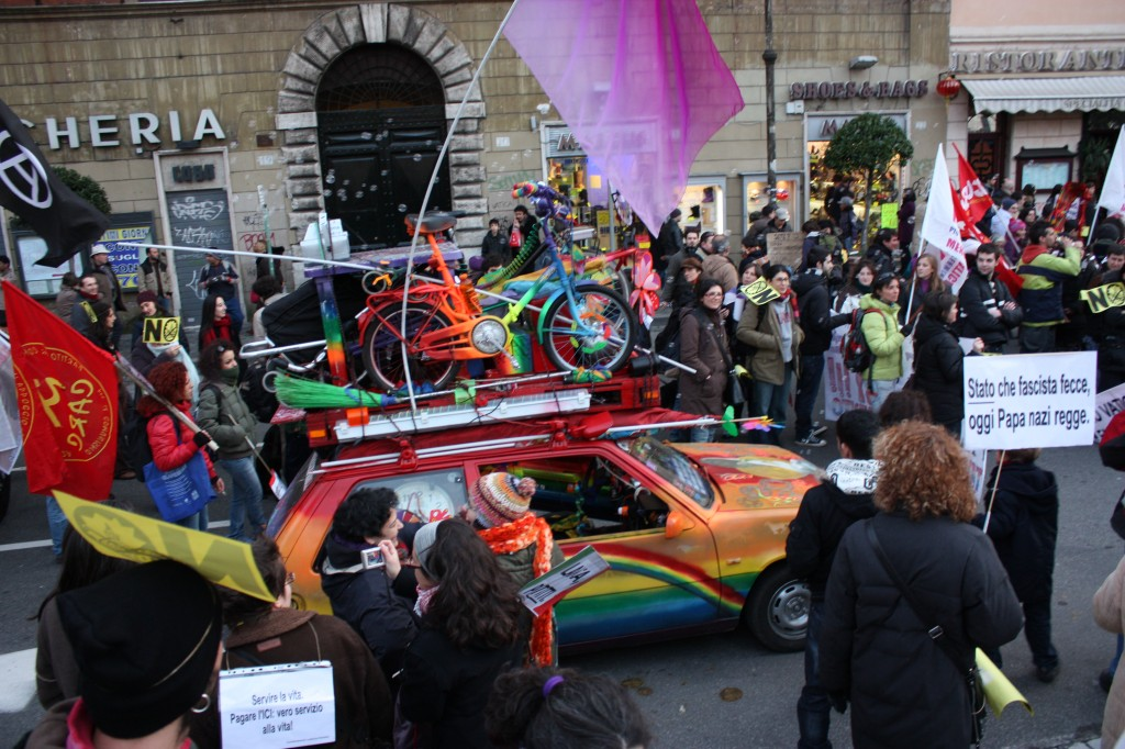 "Anti-Vatican Rally By The LGBTQ (""GLBT"") Community in Rome"