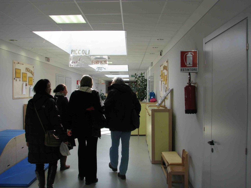 Walking Through the Sterile Halls of Parma Infanzia
