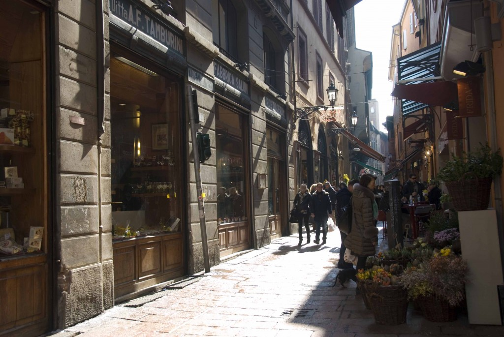 A street in Bologna