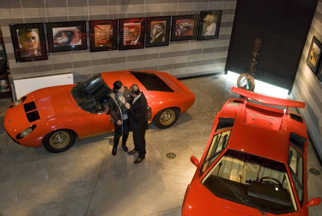 Mr. Lamborghini and Sasha