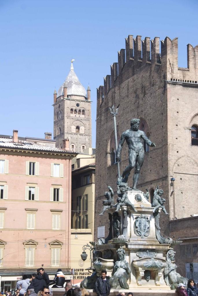 Bologna's Neptune statue