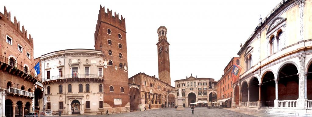 Piazza dei Signori in Verona
