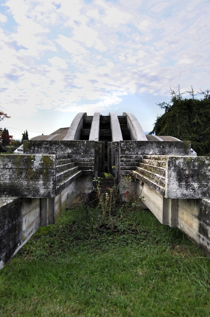 main tomb of Brion Cemetery