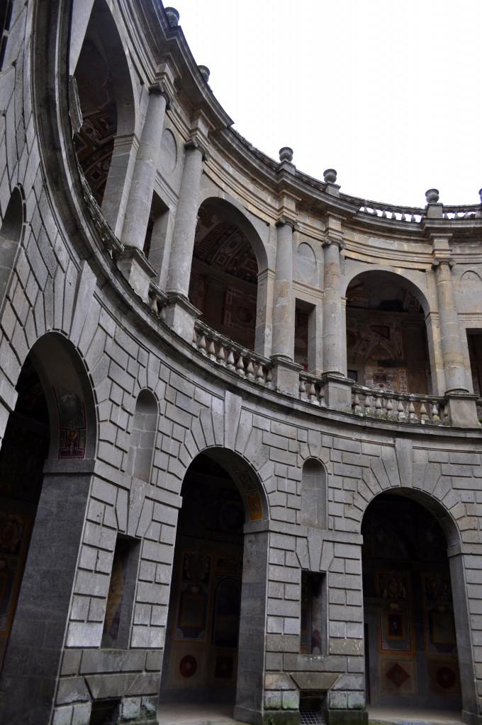 Courtyard in Palazzo Farnese
