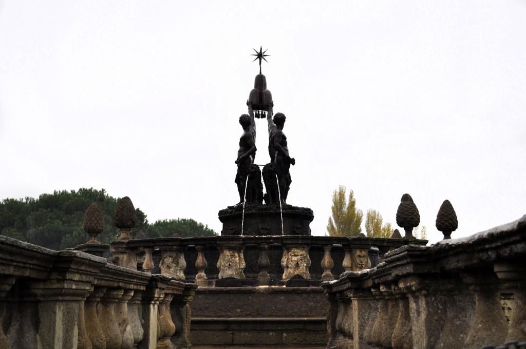 Central fountain in Garden