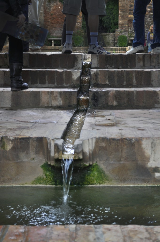 Flowing Water in Palacio di Generalife