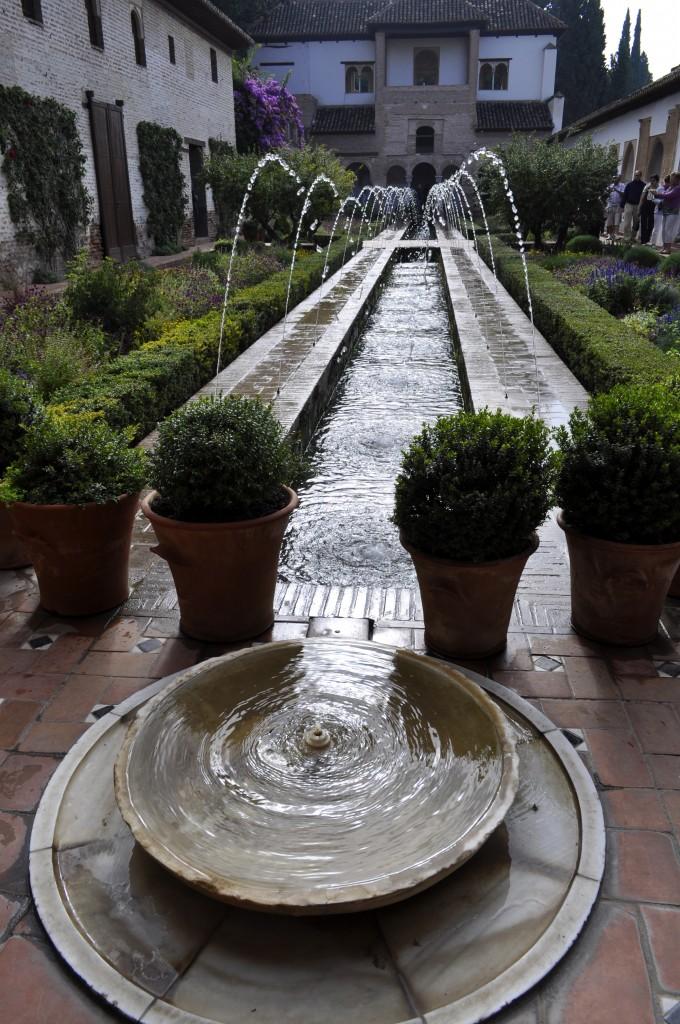 Fountains in Palacio di Generalife