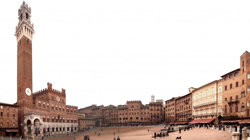 Siena: Piazza del Campo, Palazzo Pubblico, Torre del Mangia