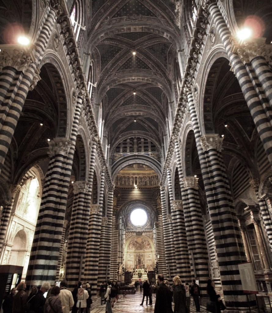 Siena: Duomo interior