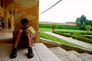 Sagar at the Villa Barbaro designed by Palladio