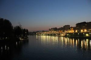 Torino at night. Photo: Kyra Spotte-Smith.