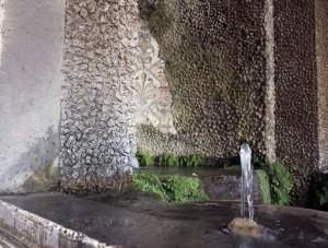 Water feature at Villa d'Este. Photo: Melody Stein